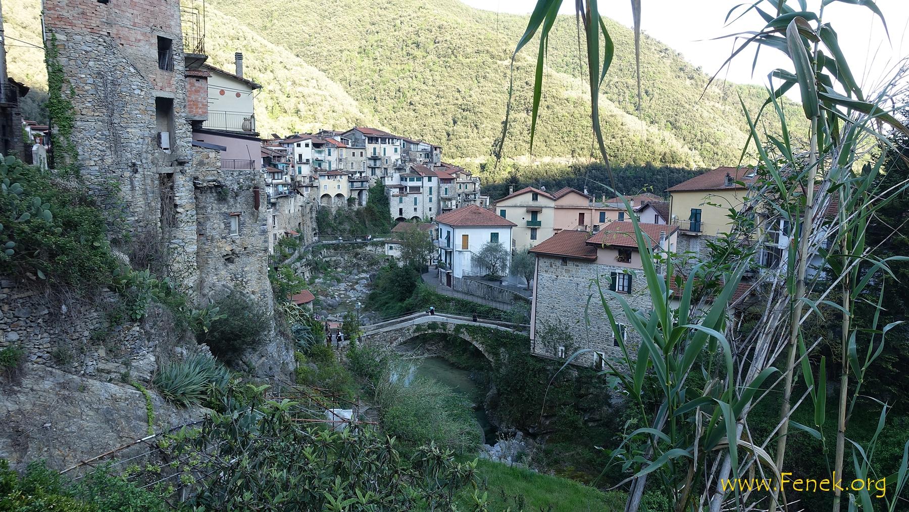 zurück in Rocchetta Nervina