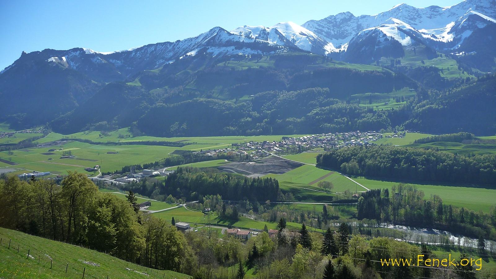 Grandvillard - ein schönes Dorf......