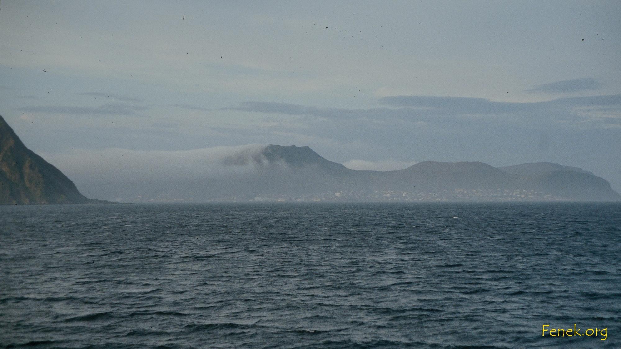 die Halbinsel wo das Nordkapp liegt