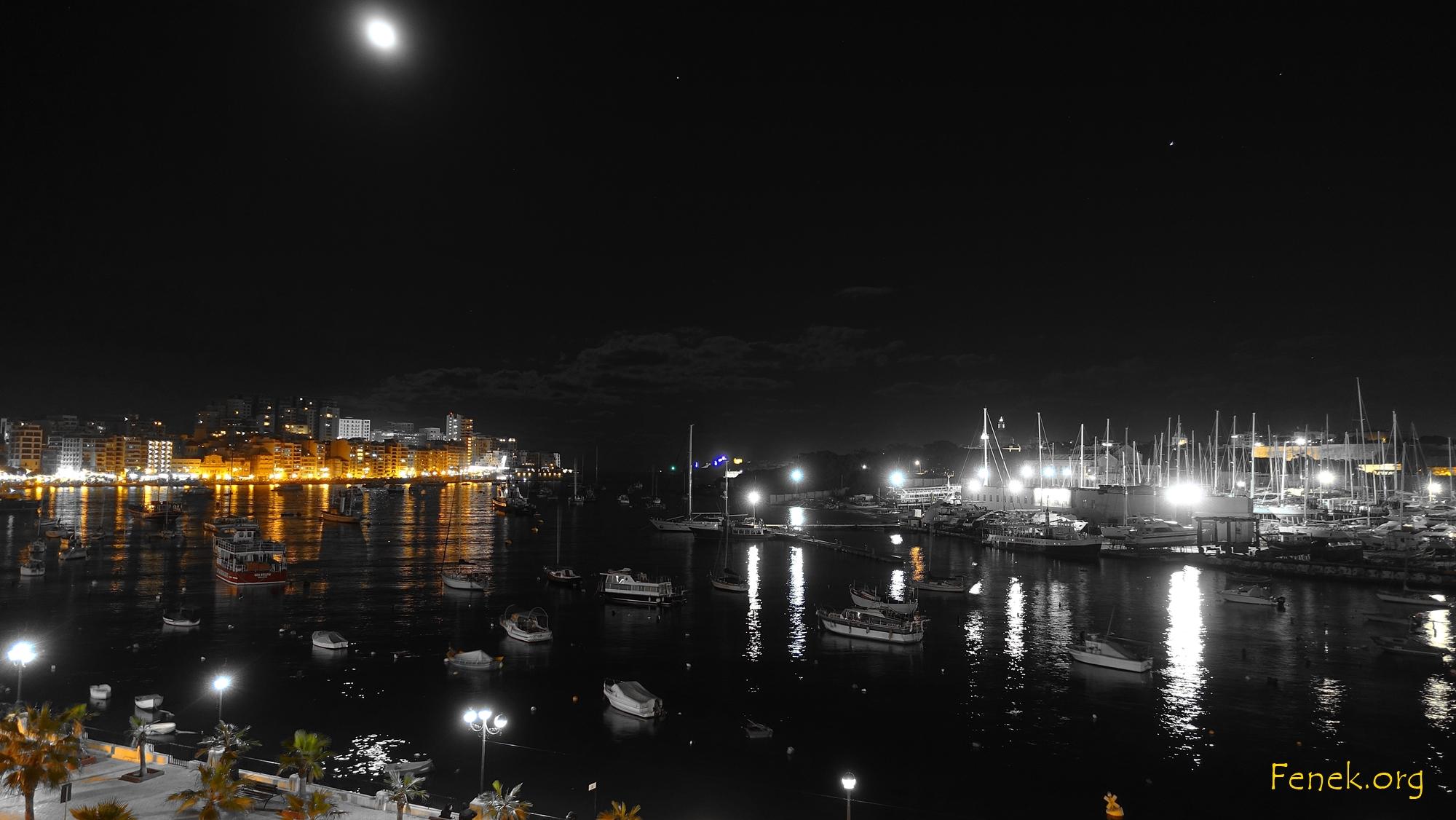 Ankunft am Abend in Sliema - Valletta