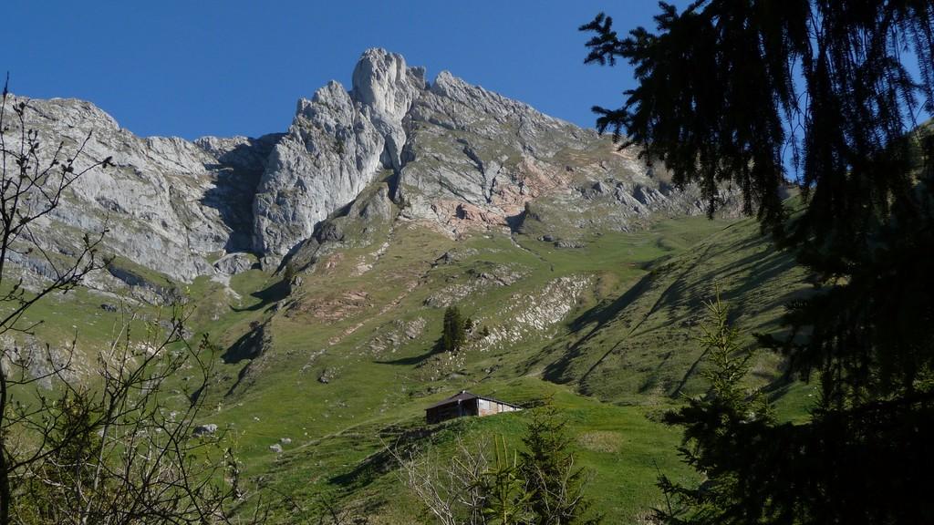 Dent de Ruth und die gleichnamige Alp