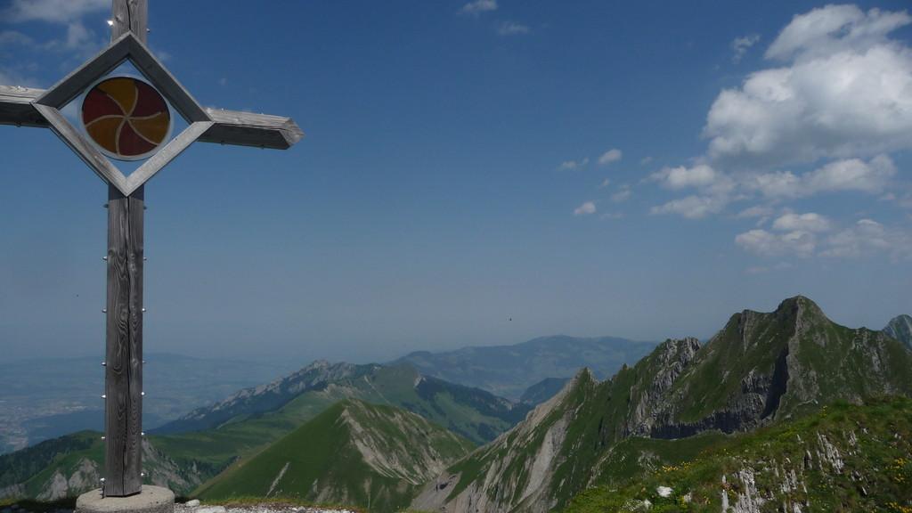 Gipfelkreuz Vanil de l'Ecri