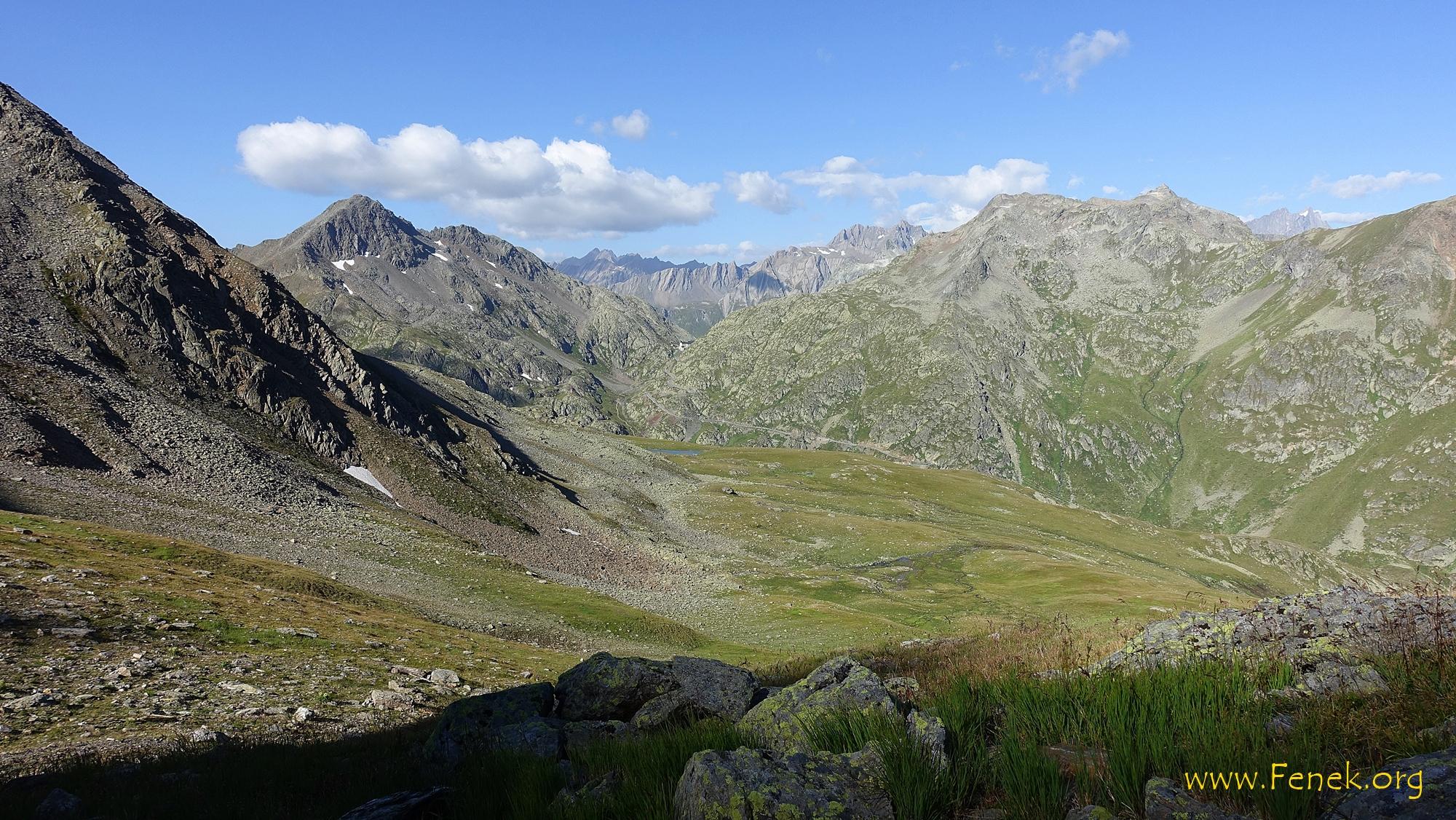 links Mont Mort - der letzte Gipfel von heute
