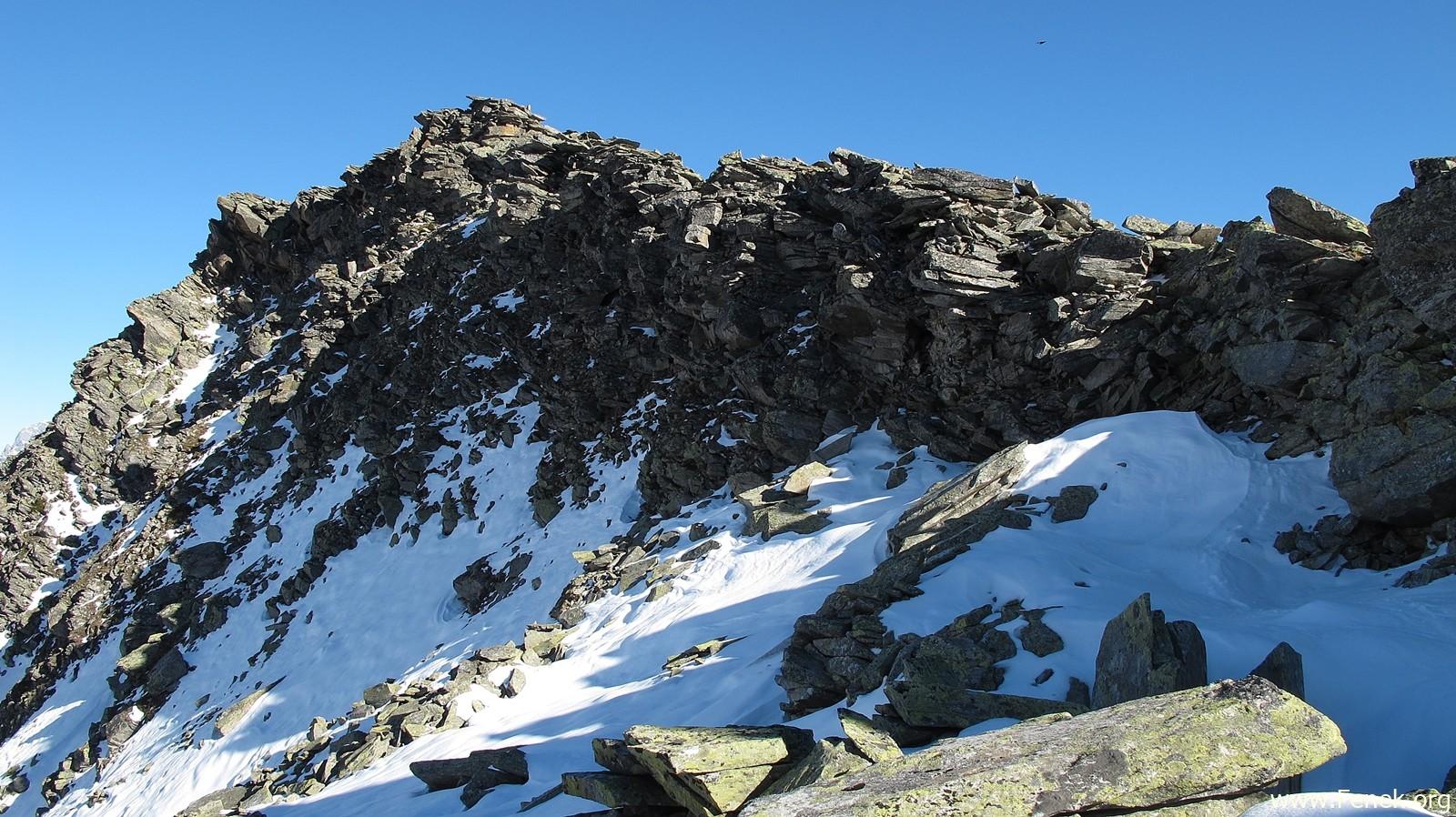 mein Abstieg über den Südwest Grat
