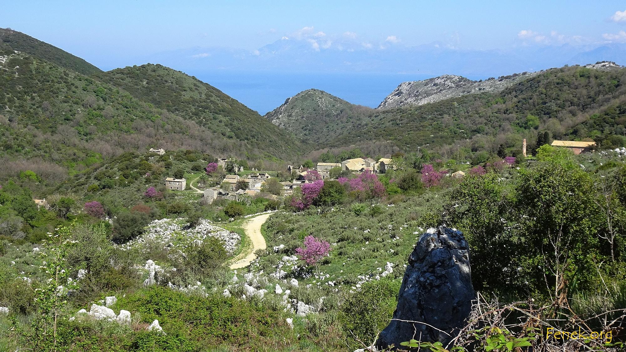 Perithia - Bergdorf auf Corfu