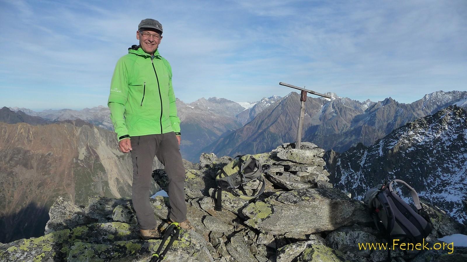 Happy wie immer auf dem Gipfel  :-))