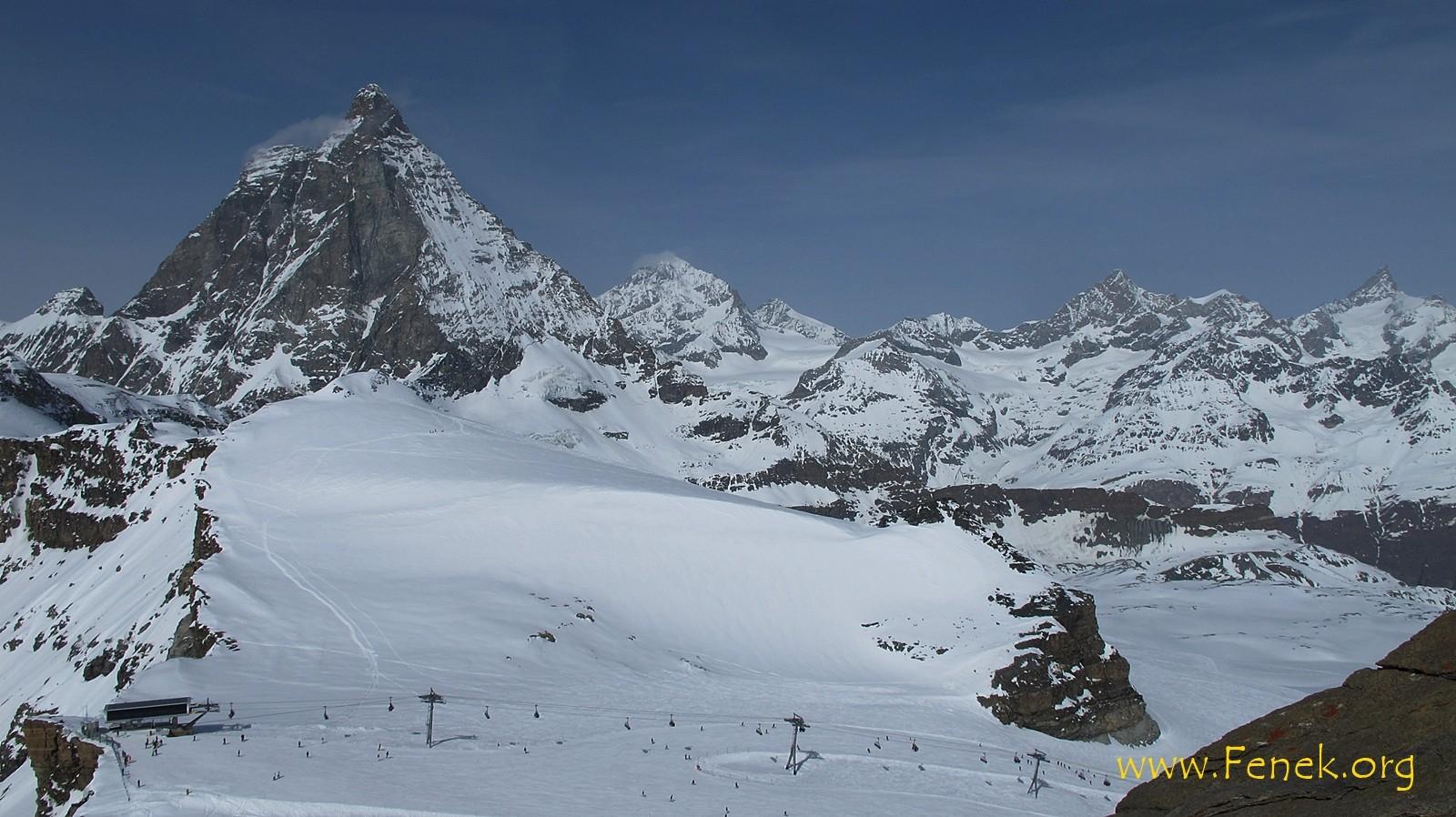 Furgghorn und Matterhorn