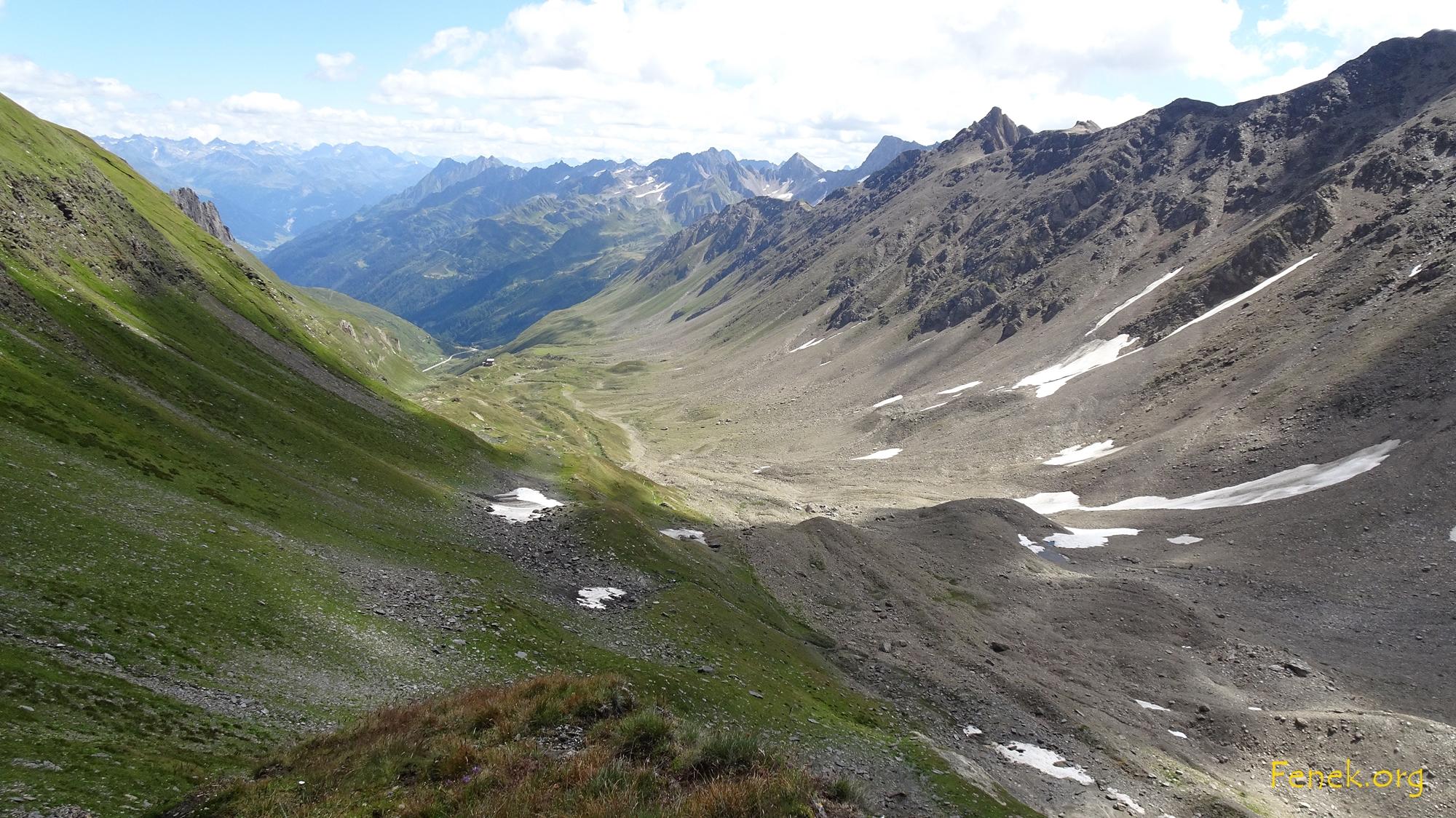 Val Corno wo die Hütte steht