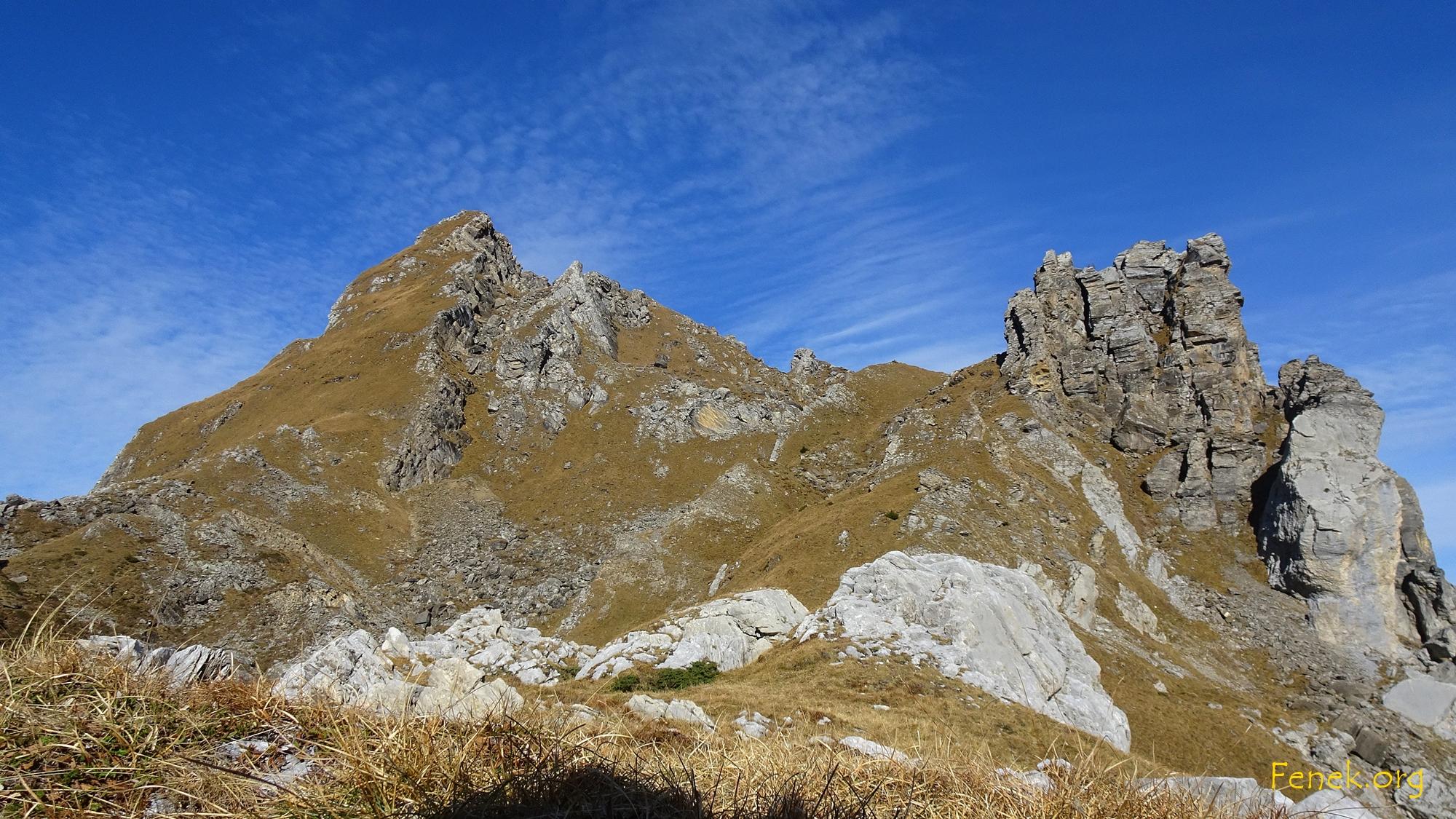 Der Berg vor mir - ich freue mich auf das Steilgras