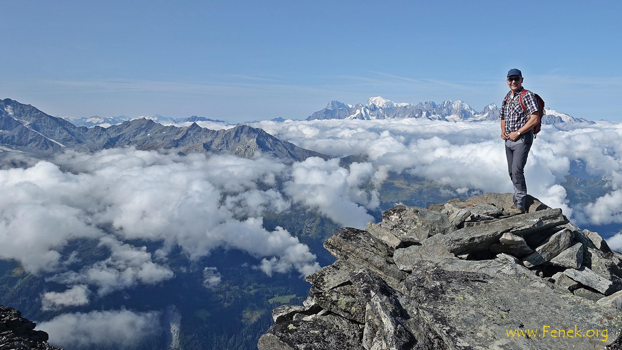 König der Alpen - ich meine den Weissen ganz hinten ;-))