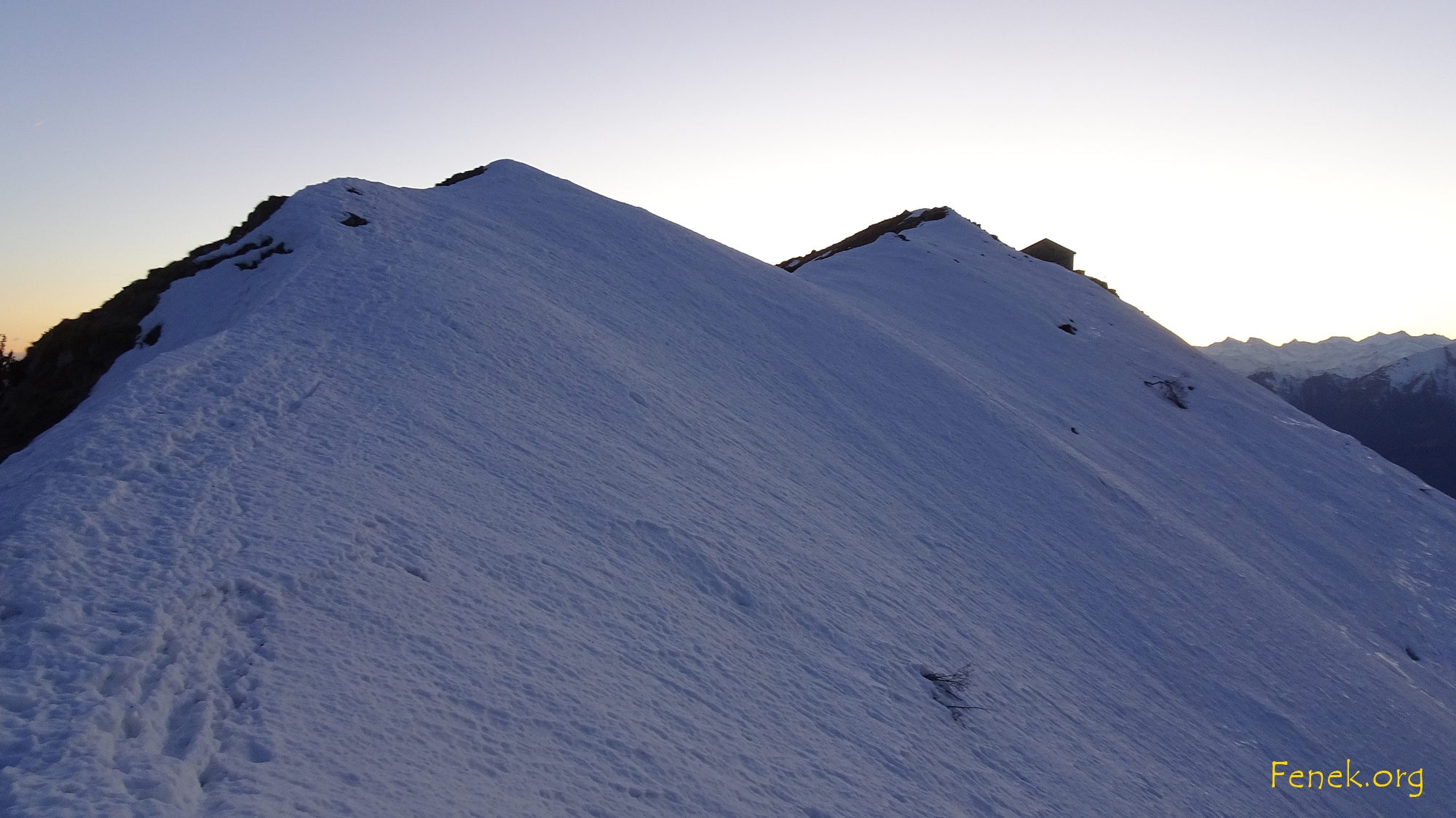 letzter Grat zum Gipfel