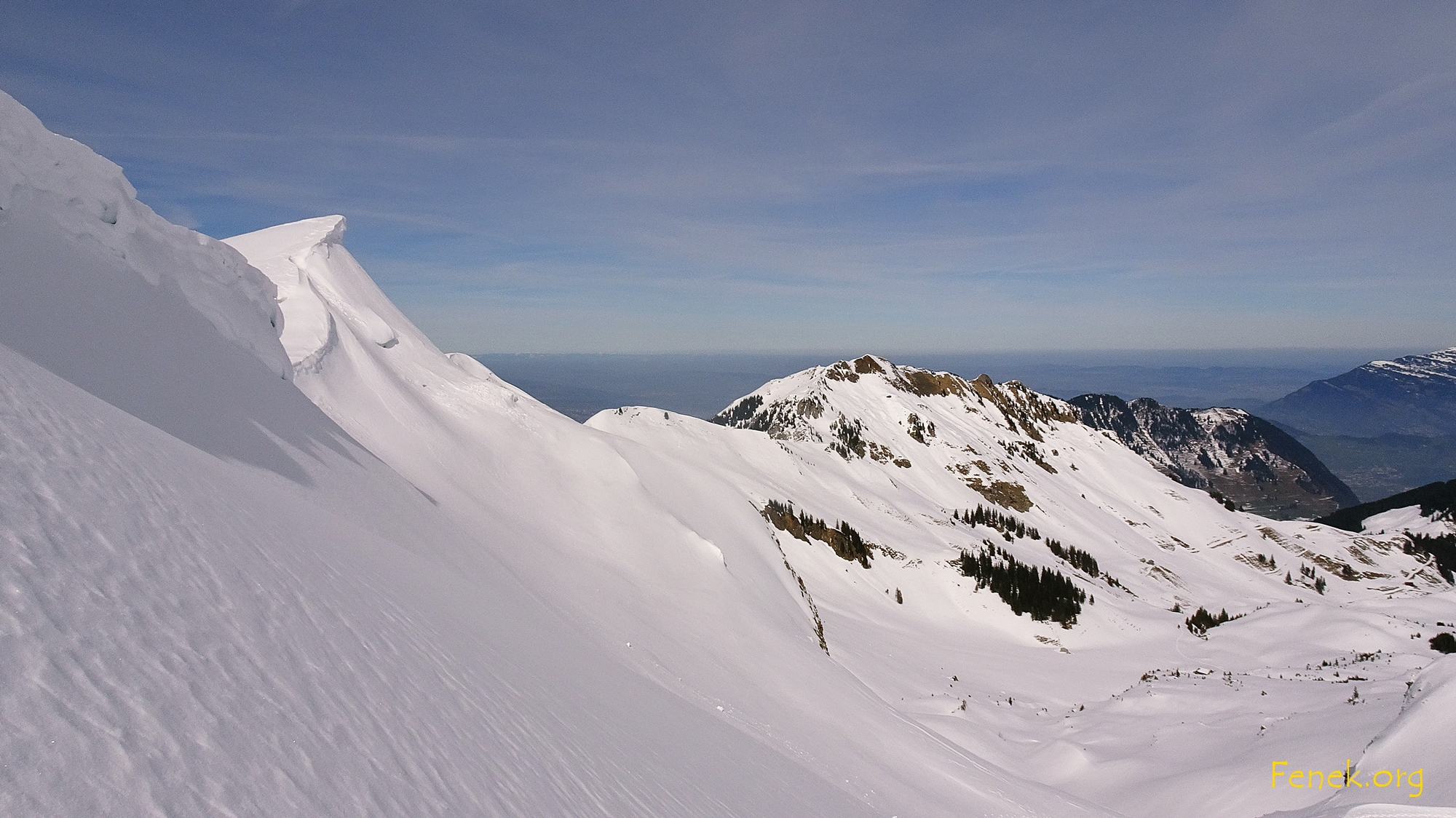 am Ostgrat mit Blick zum Gipfel