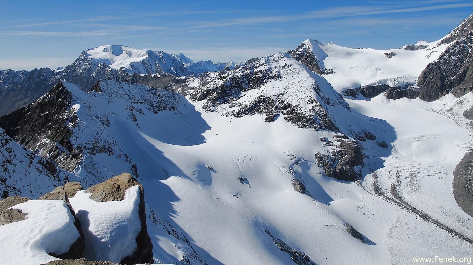 Mont Vélan und andere....