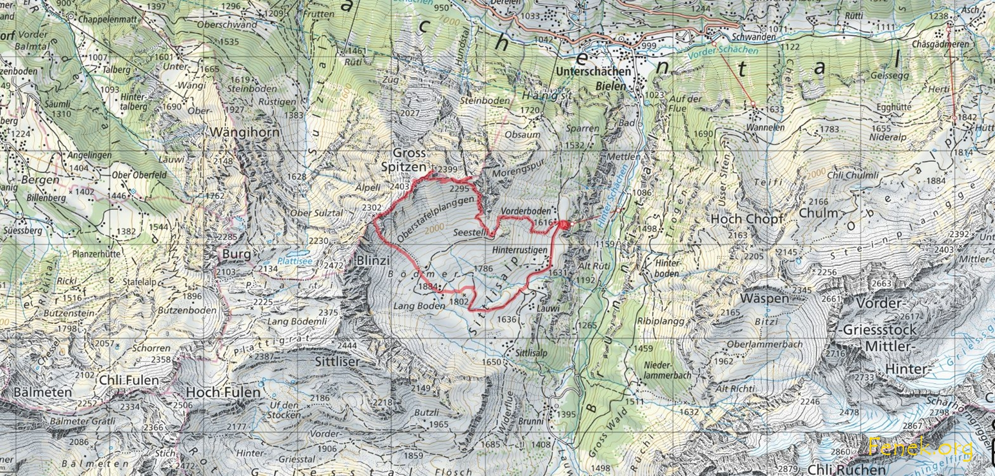 unsere Route