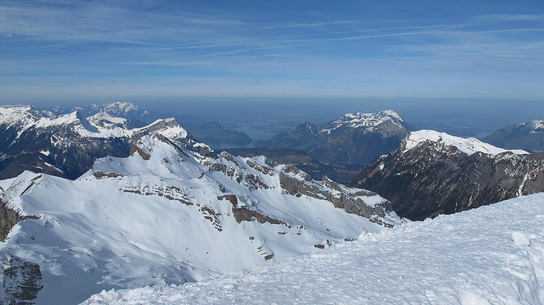 Gipfelaussicht nach Luzern