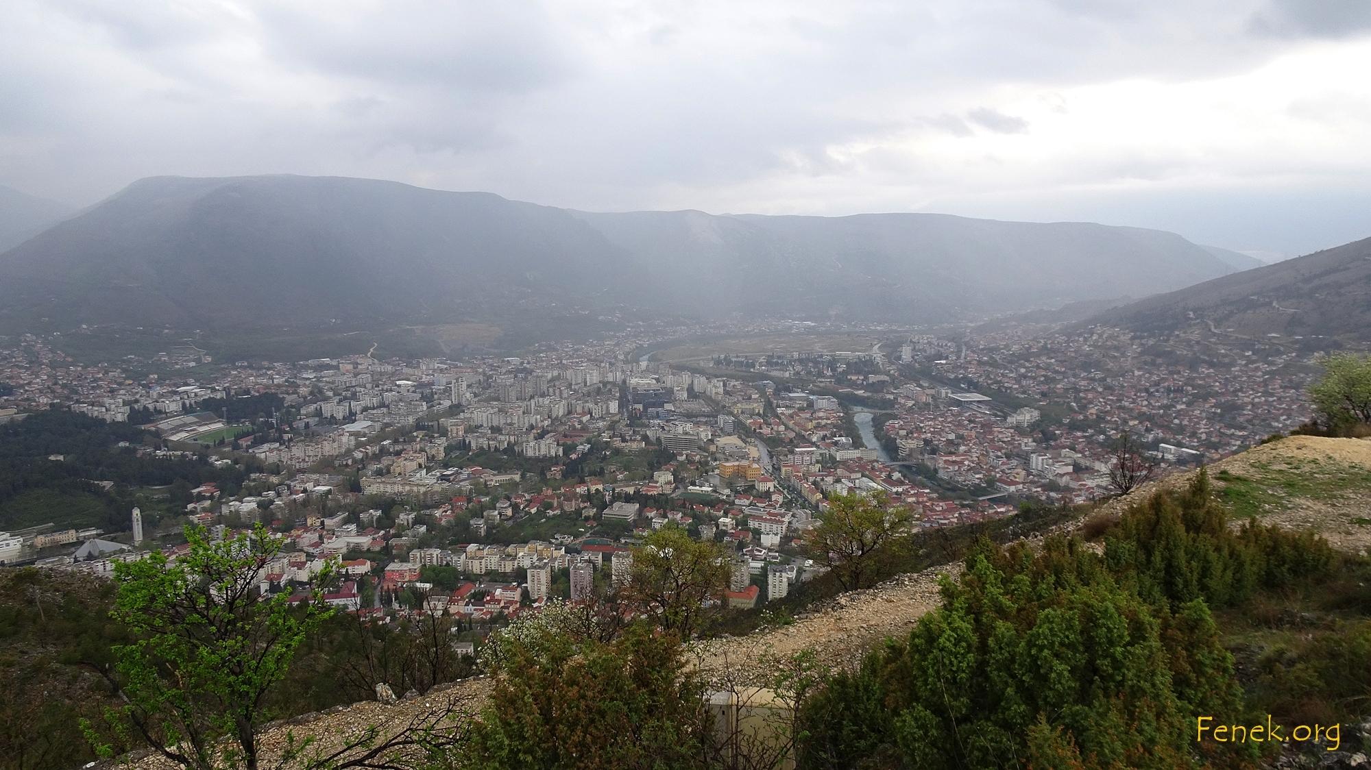 Neustadt von Mostar