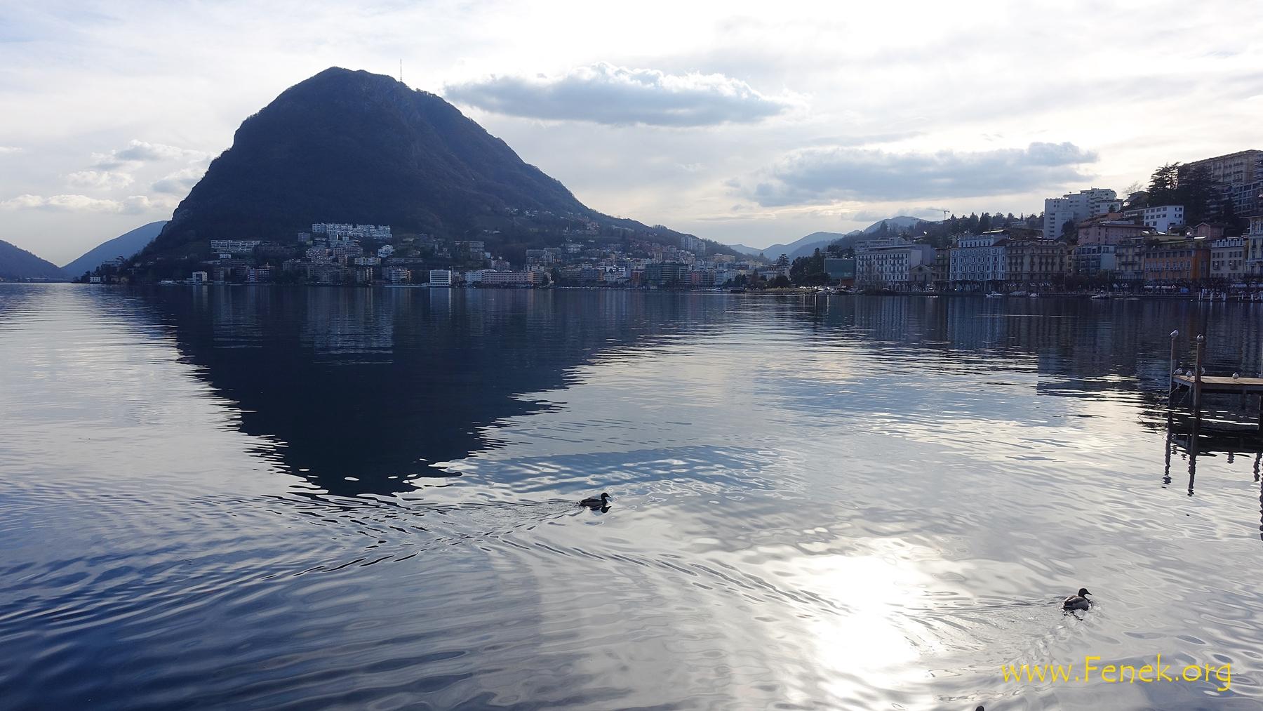 Lugano und San Salvatore