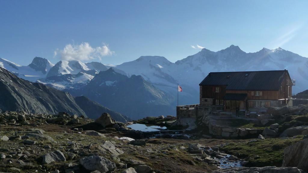 Almagellerhütte - empfehlenswert!!