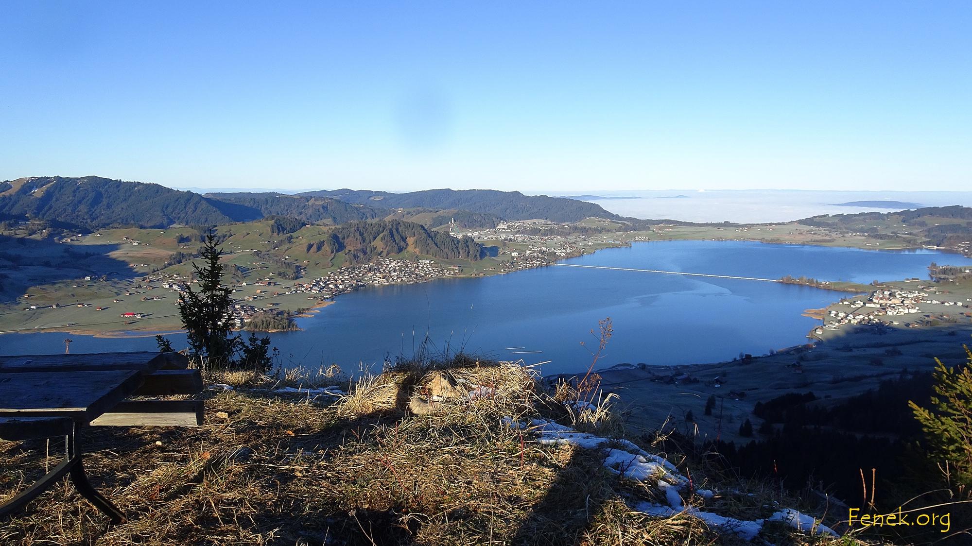 Sihlsee und Einsiedeln