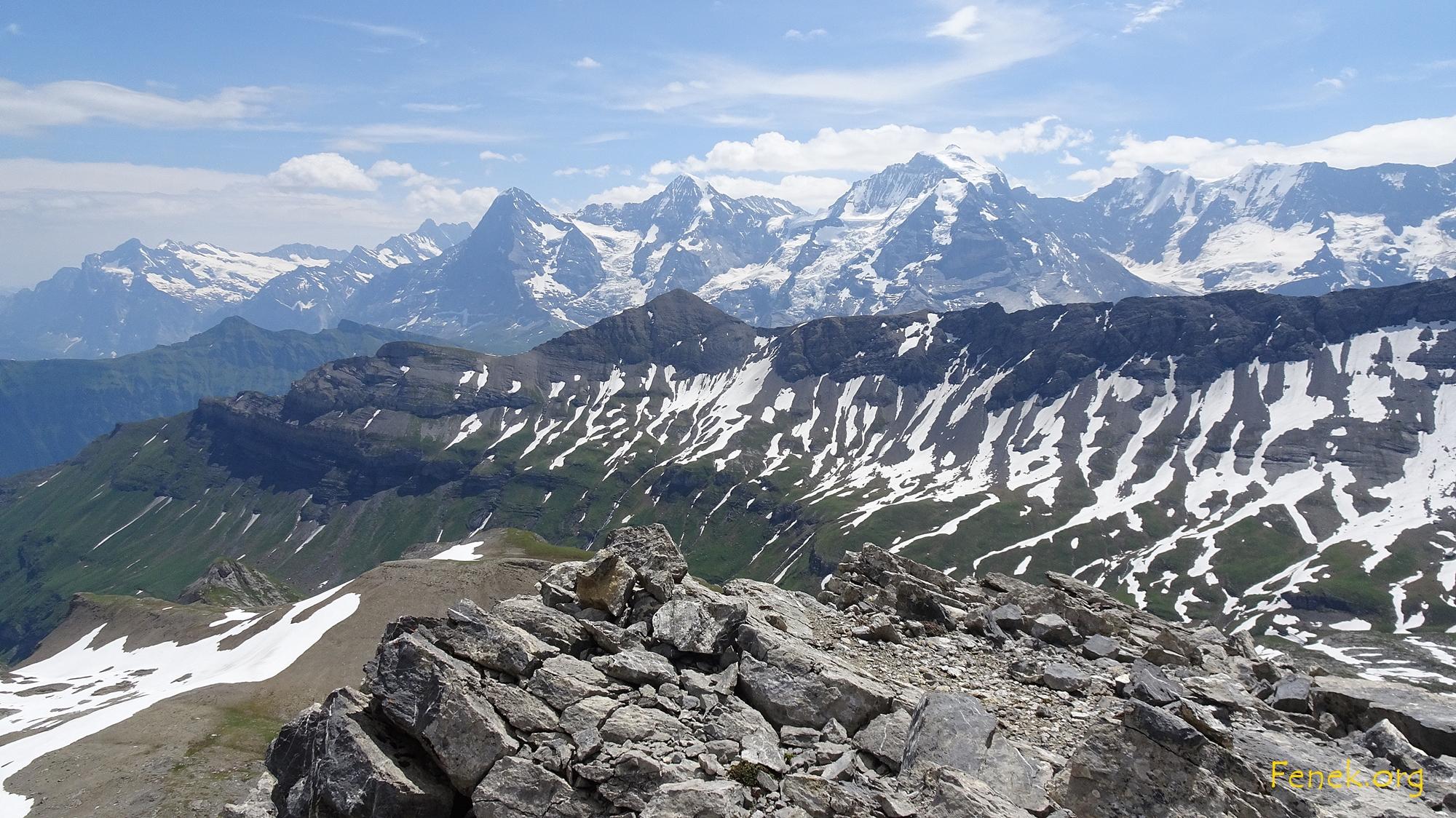 Aussicht vom Drättehorn