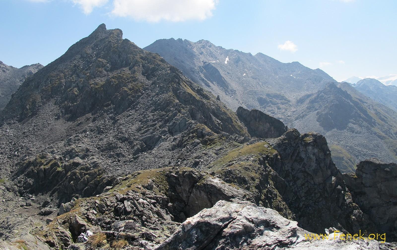 auf dem Gipfel und Sicht nach mehr....