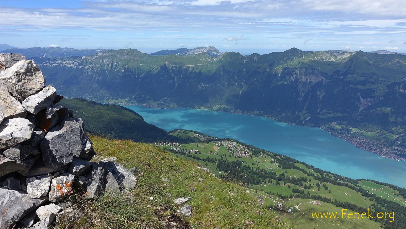 Gipfelblick Richtung Interlaken