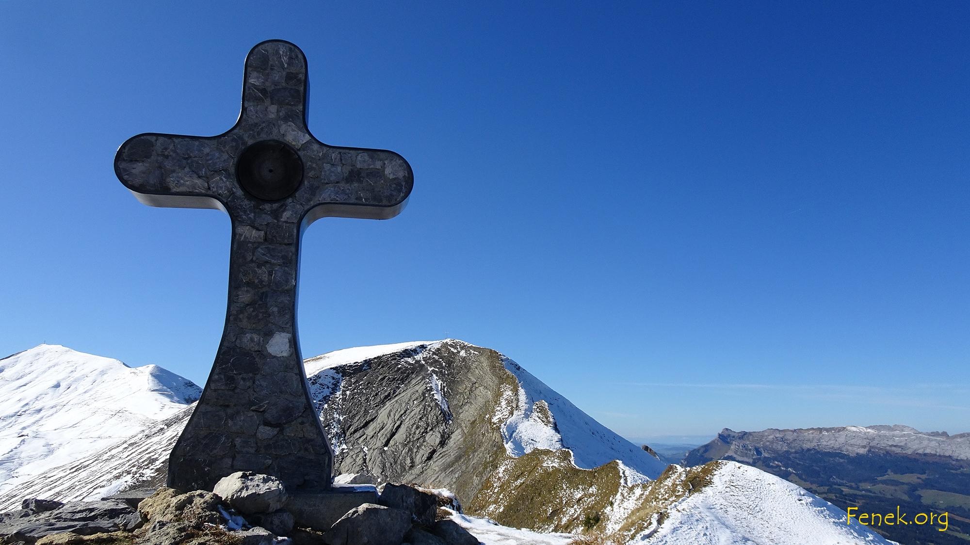 Gipfelkreuz Mändli