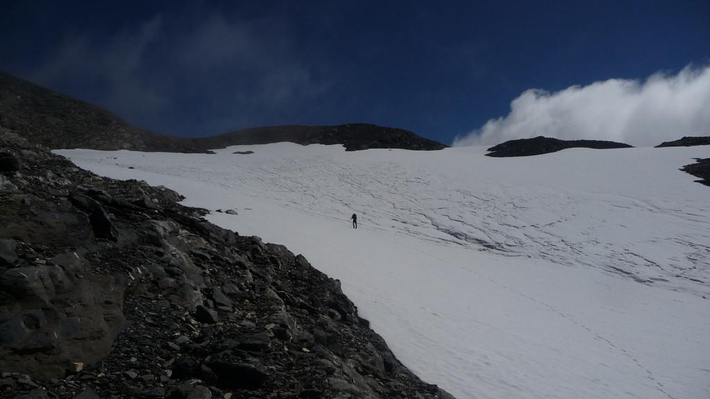 der kleine Glacier de la Tour Sallière