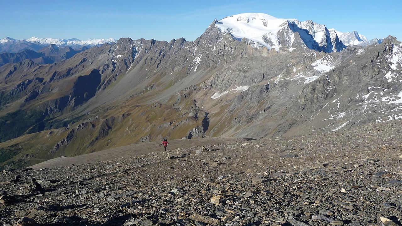 Aufstieg zum Gipfel.....