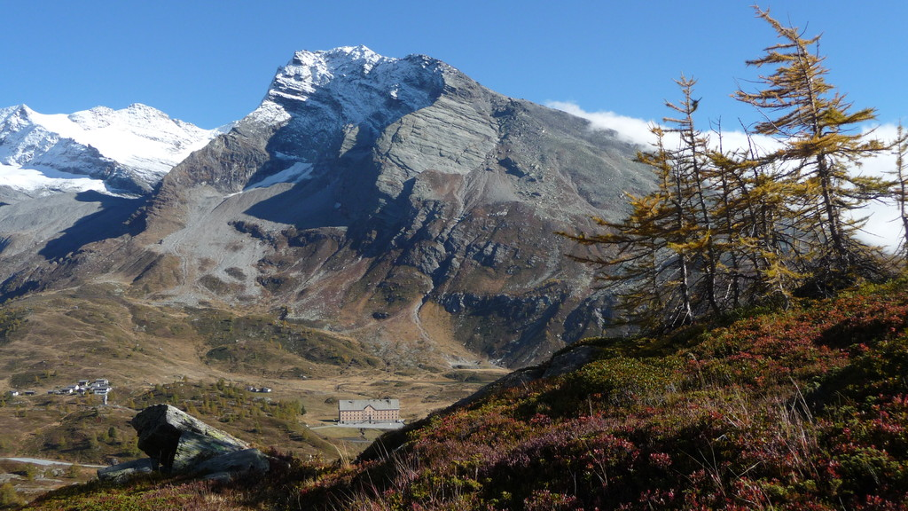 Hübschhorn und Simplonpass