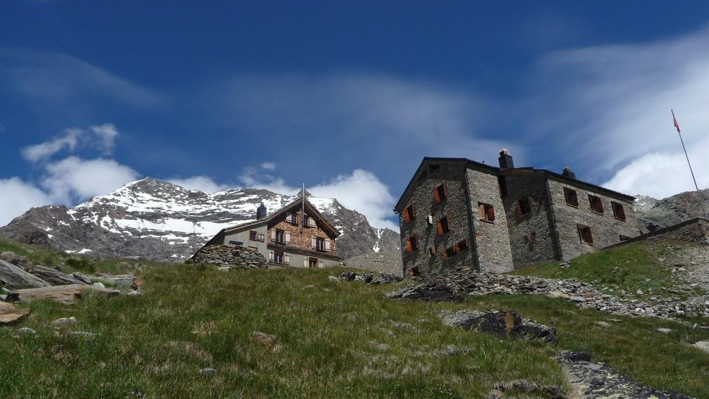 Weissmieshütte und Lagginhorn
