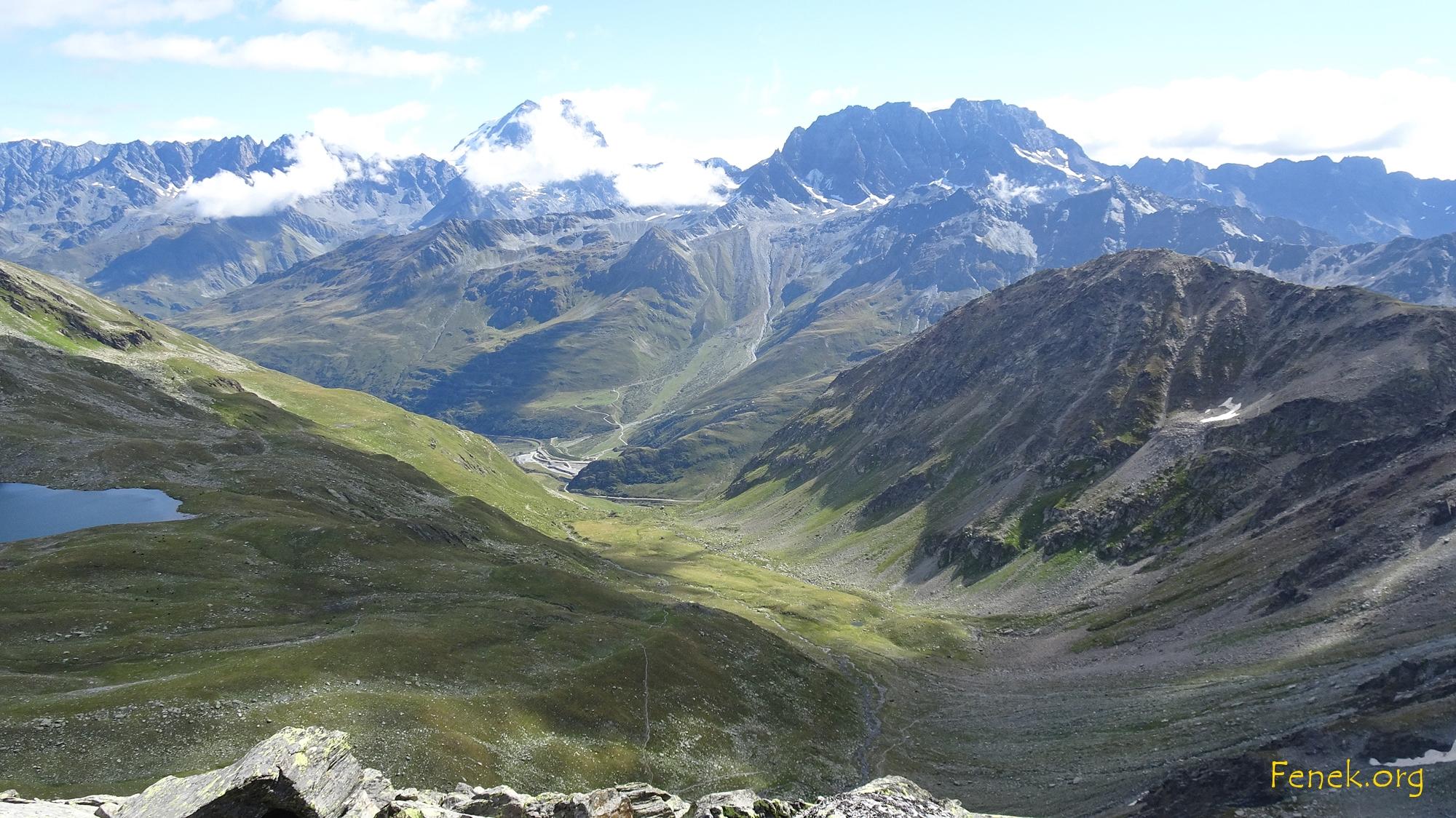 Grand Combin und Mont Velan verhüllen sich