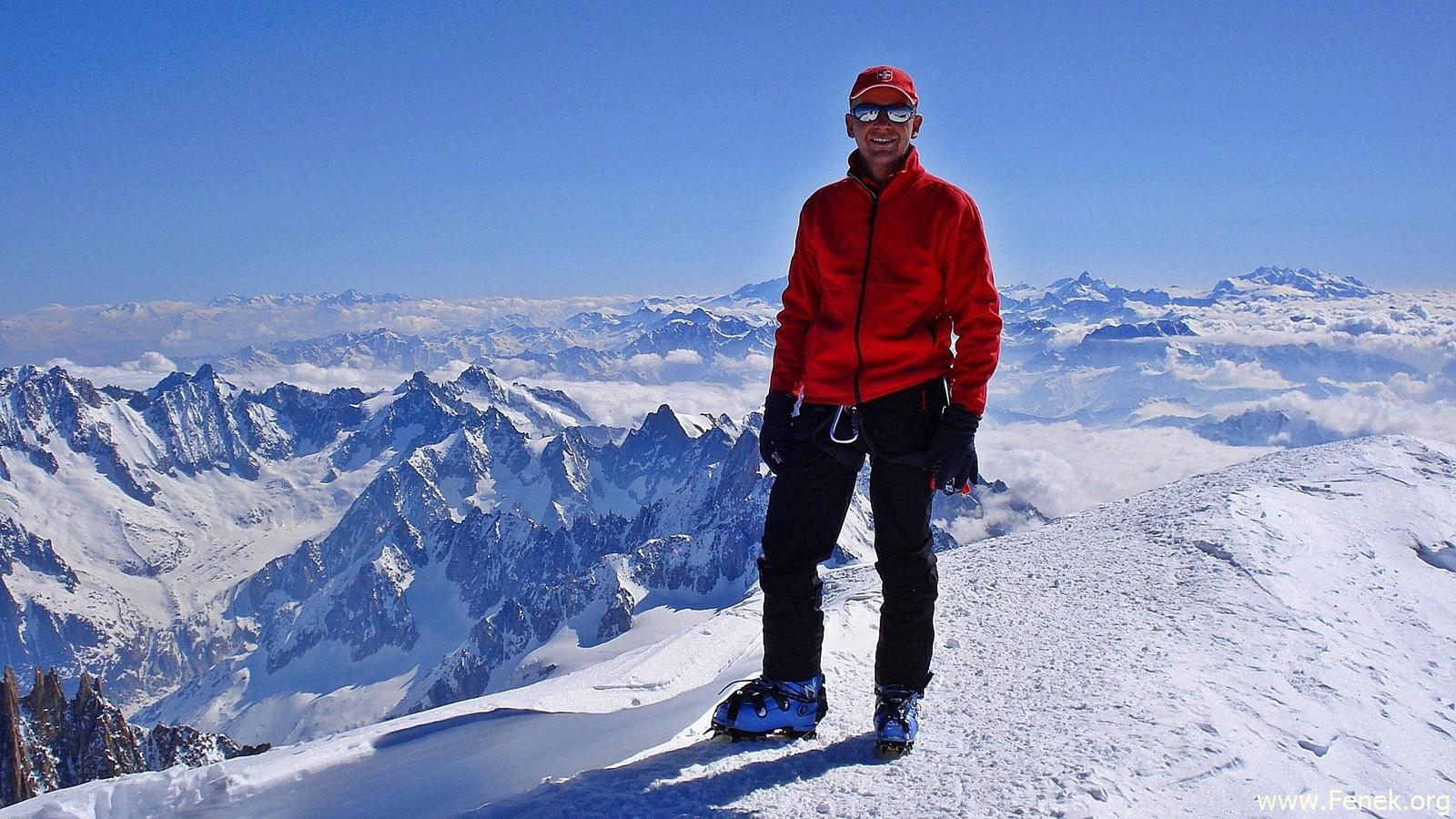 Gipfel Mont Blanc
