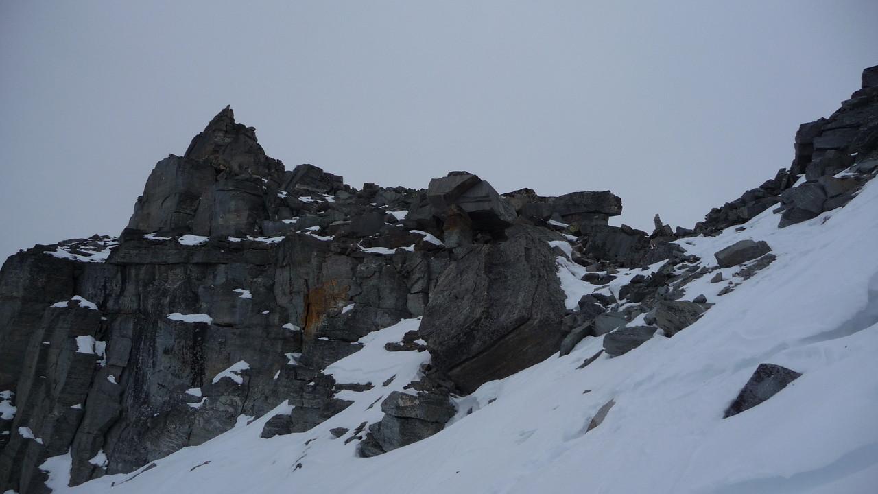 der Gipfel - nach und unahbar....