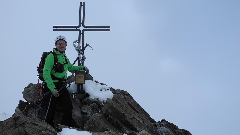 Stecknadelhorn - dritter Gipfel