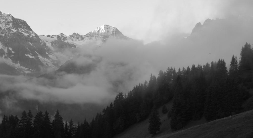 Blick zum Breithorn