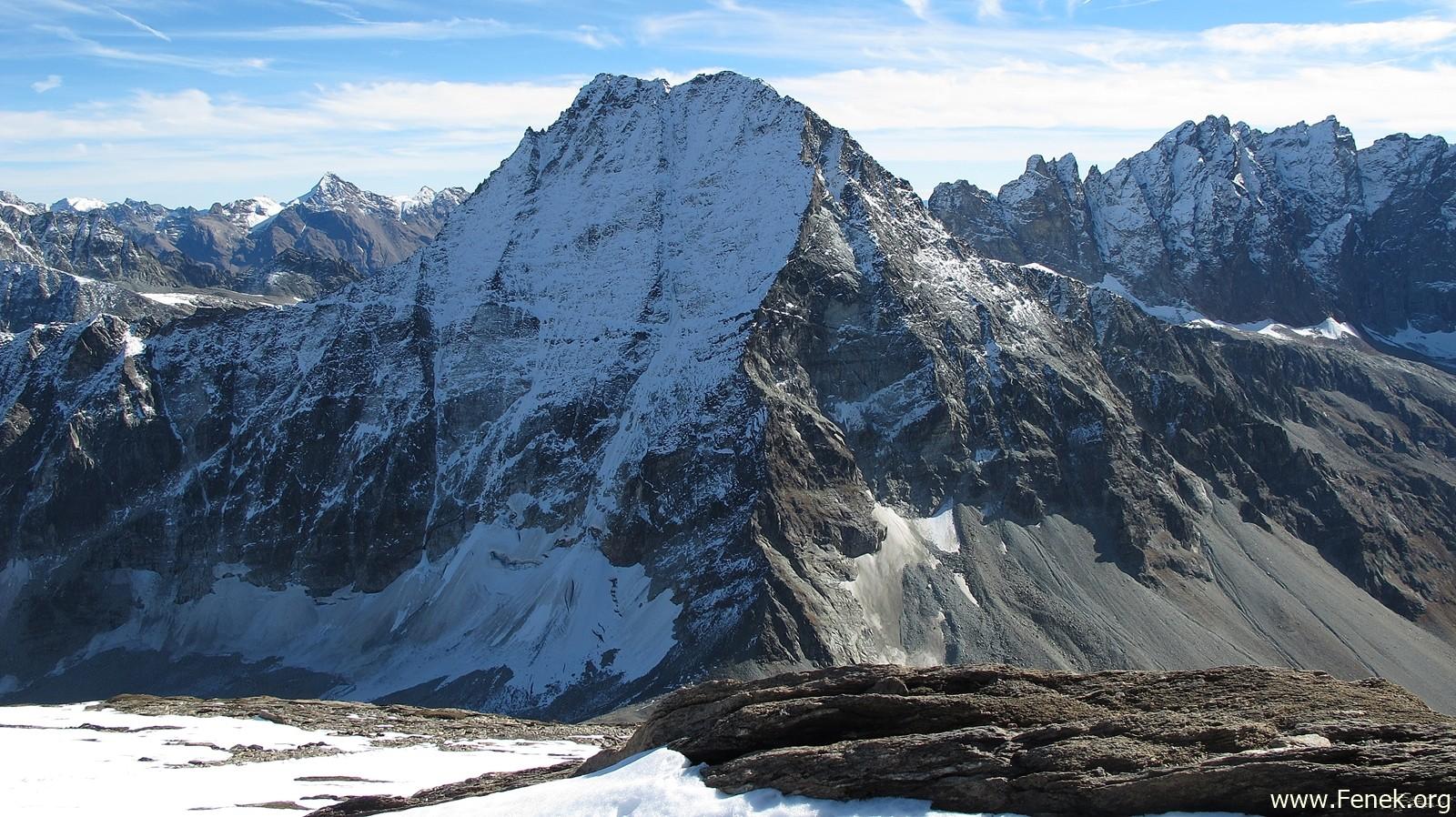 der mächtige Mont Gelé
