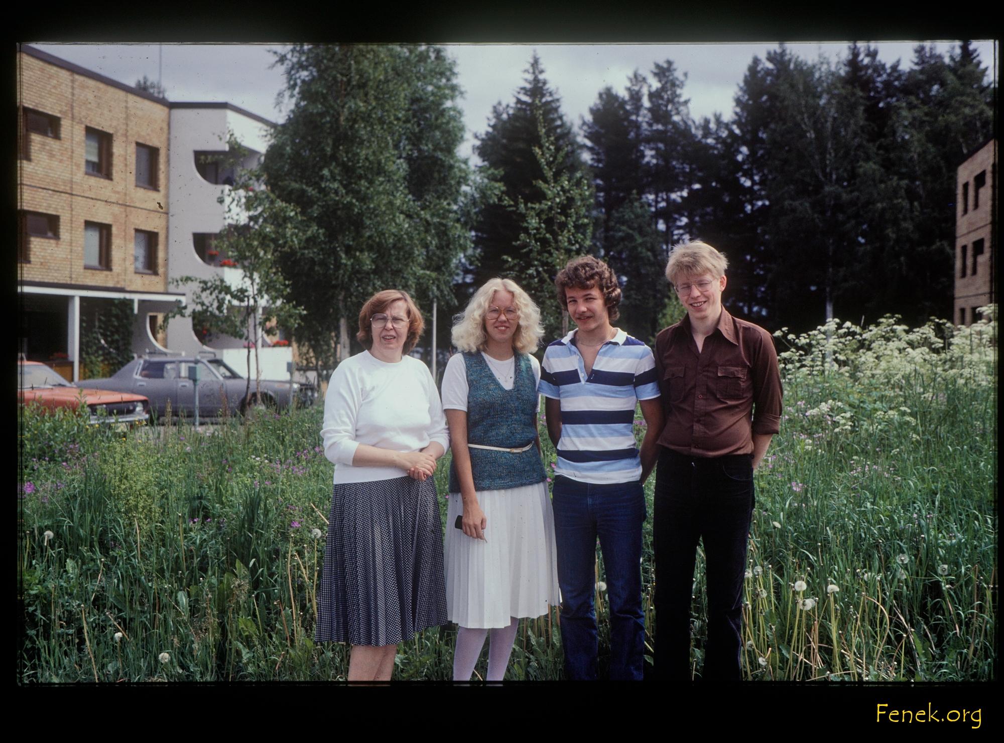 befreundete Familie in Finland