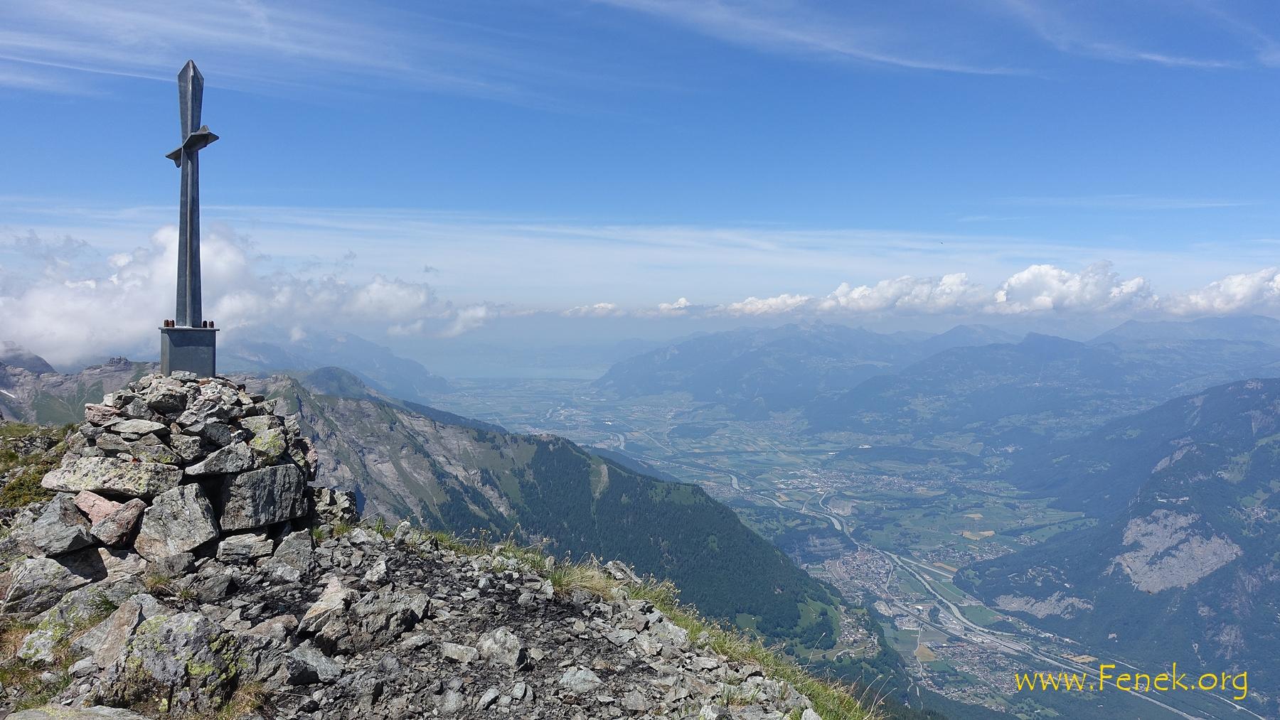 Rhonetal bis zum Genfersee