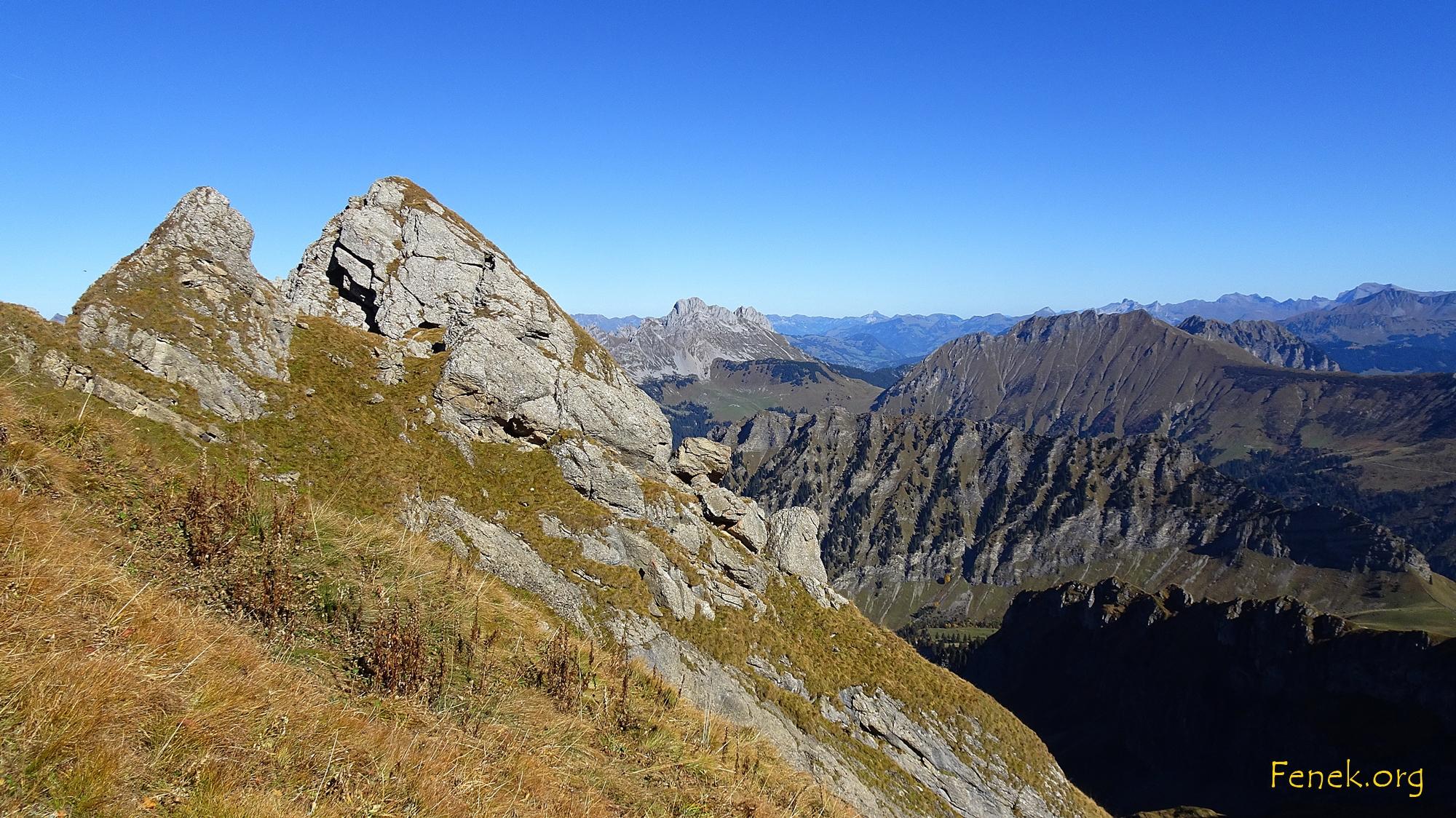 l'Aiguille Gipfelkopf