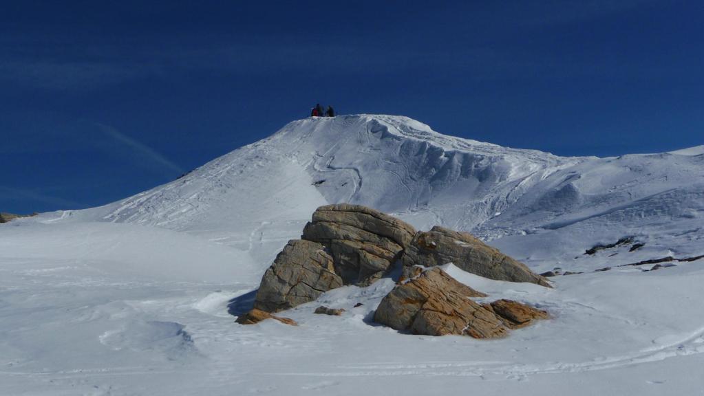 Gipfel Elwertätsch 3'208m