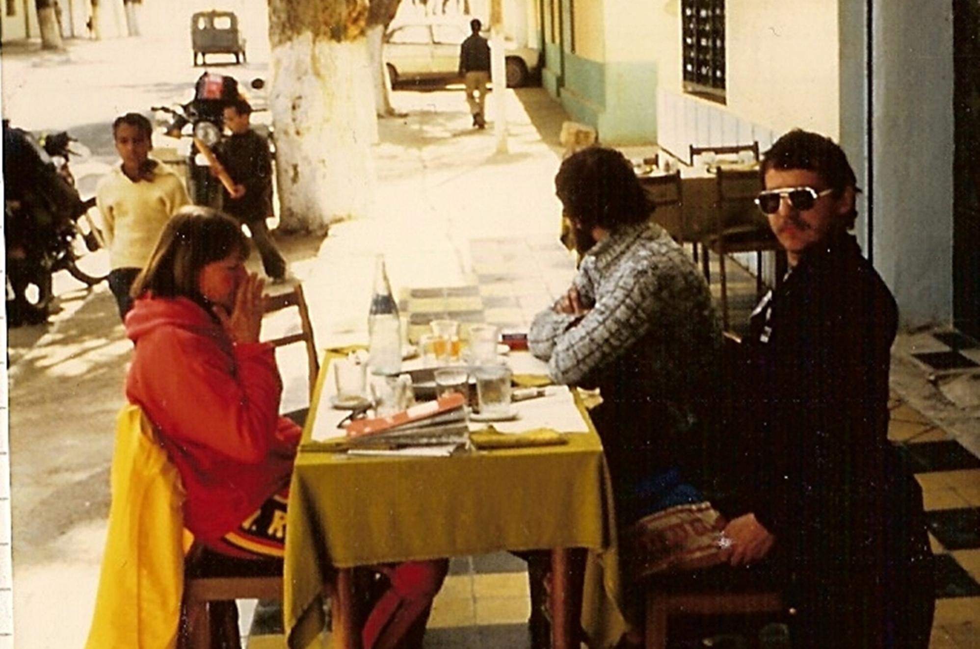 erster Mittaghalt in Algerien