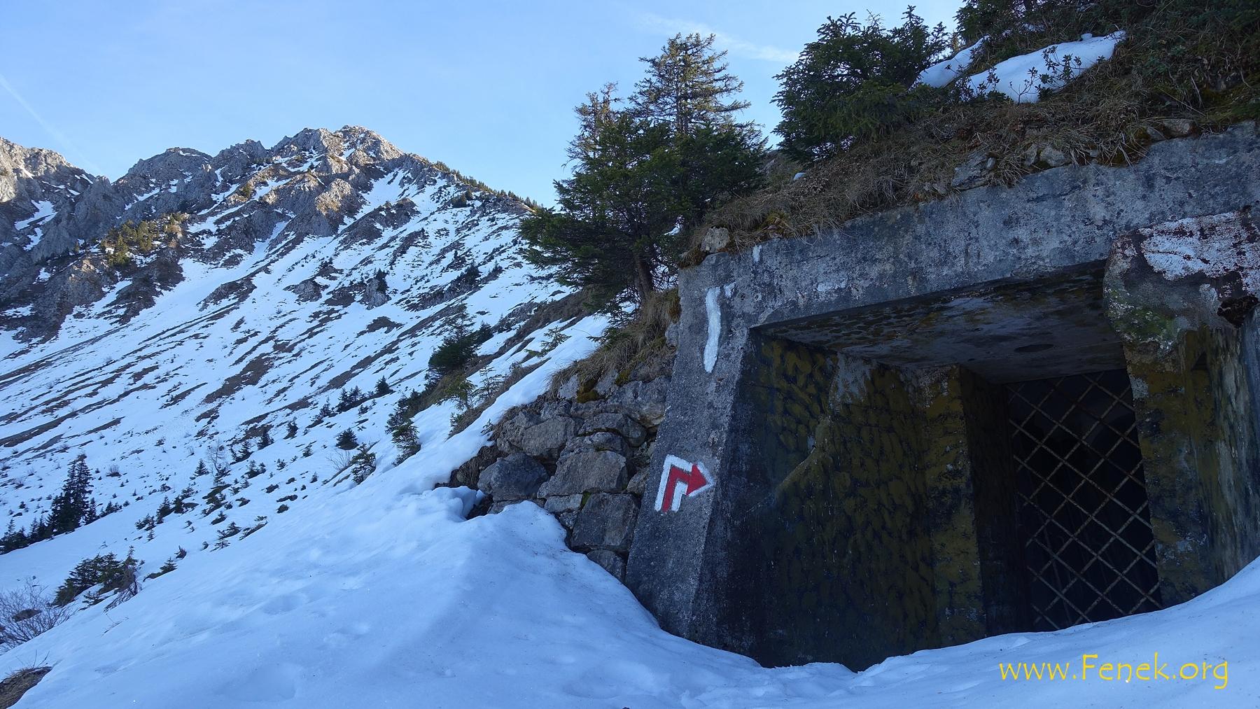 am Westgrat zum Mont d'Or