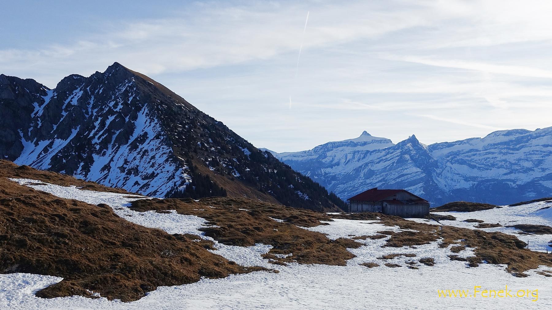 Westgrat vom Mont d'Or