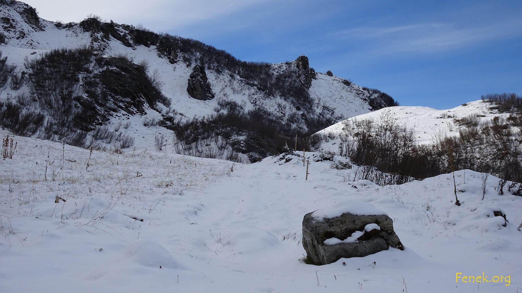 La Motte - eine kleine Warze am Grat