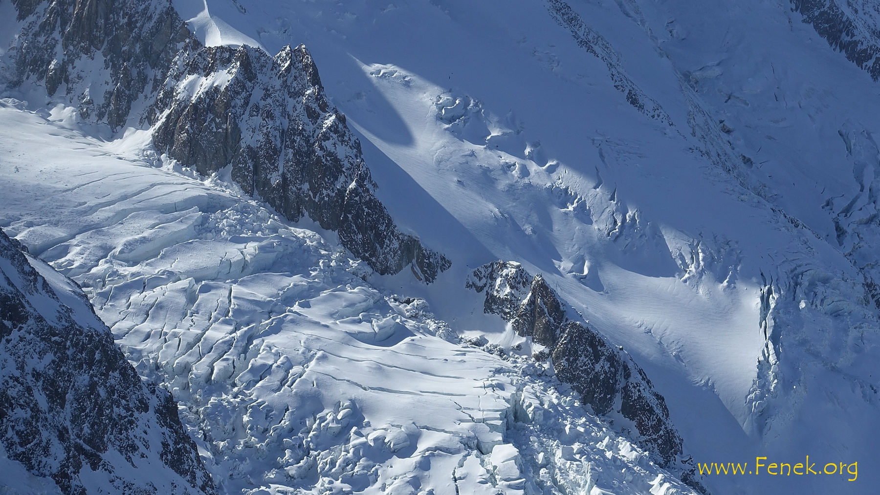Refuge des Grands Mulets - hier sind wir mit den Ski vorbeigefahren