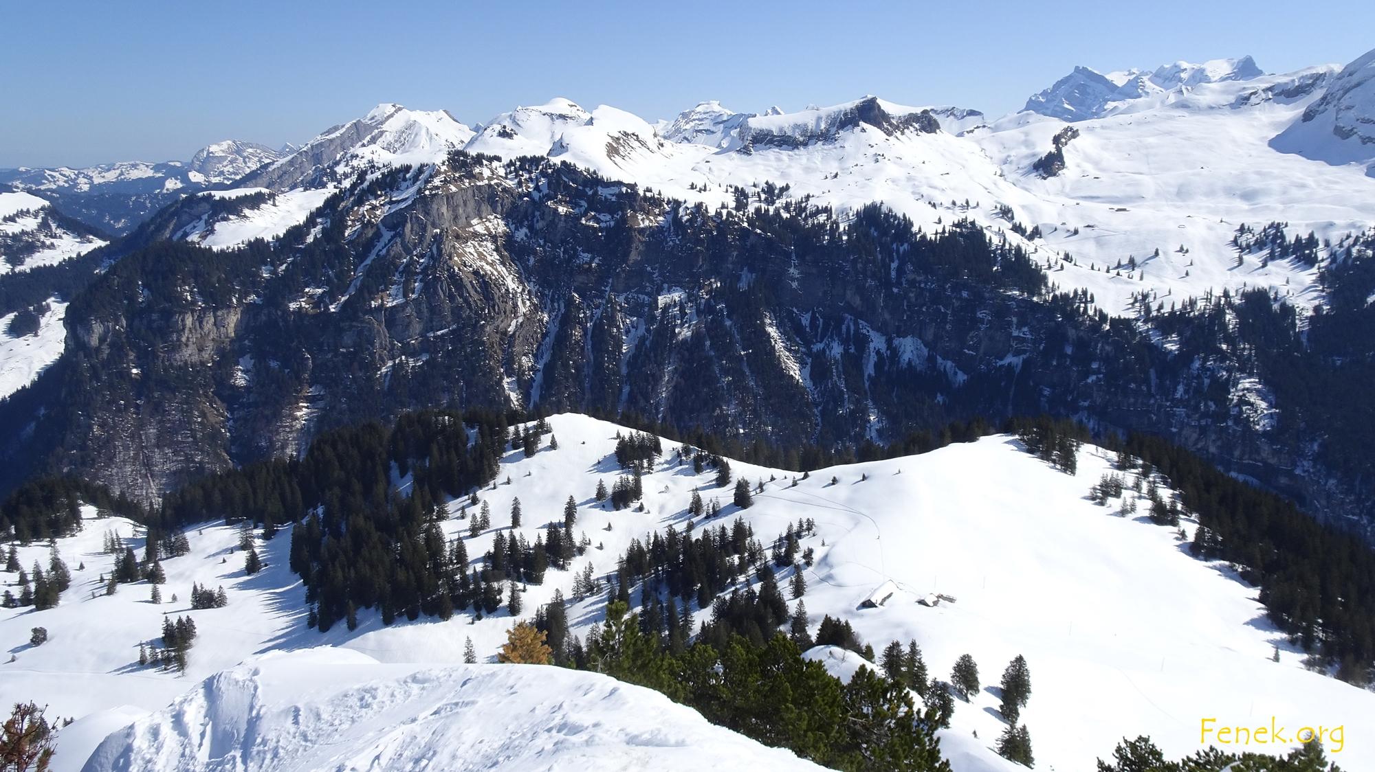 dort war meine letzte Skitour - Biet/Fidisberg
