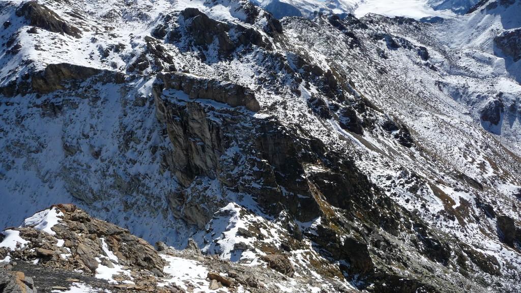 diese Steilstufe wird rechts umgangen