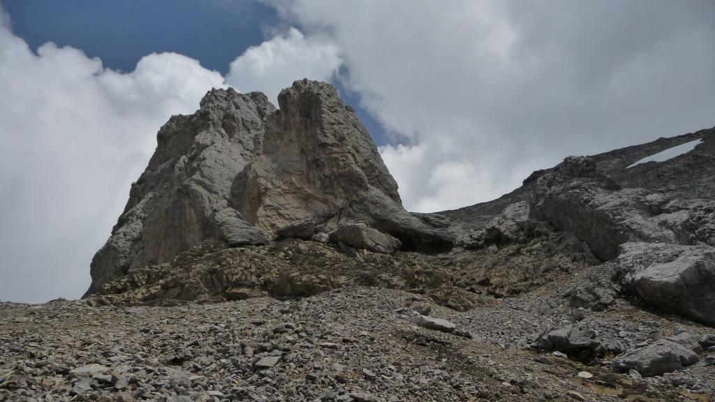 der Gipfel vom Ärmighorn