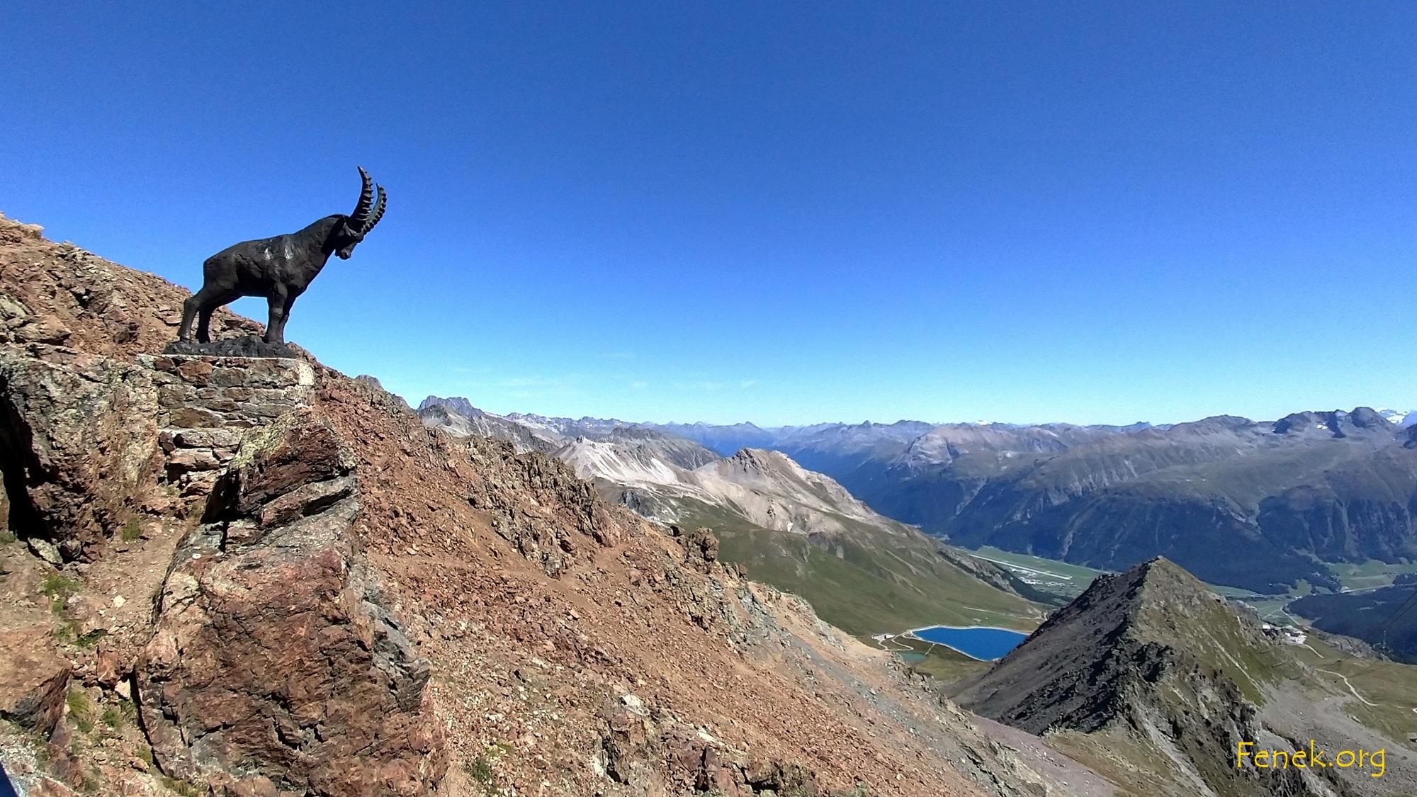 ich bin in Graubünden